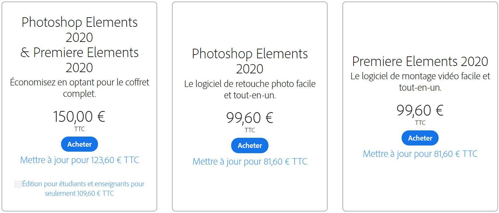 Premiere Elements et Photoshop Elements crack
