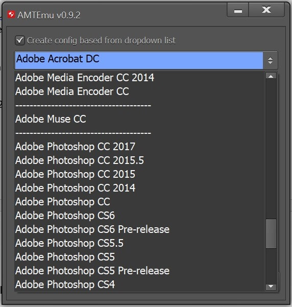 produit Adobe CC