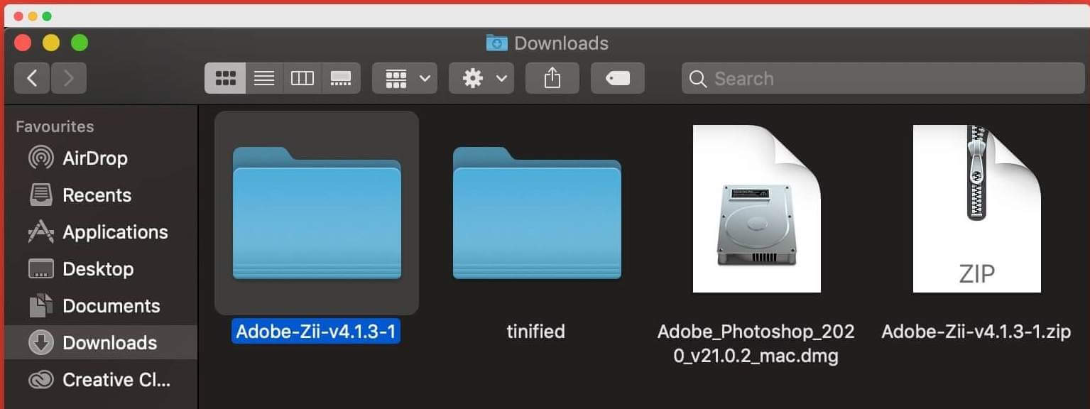 adobe zii patcher folder